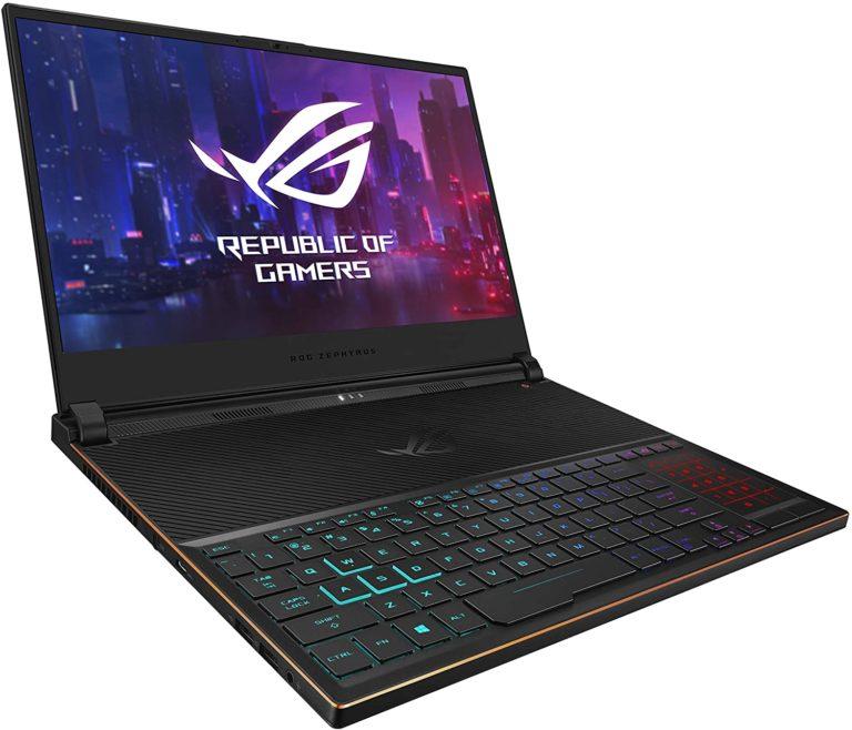 Asus ROG Zephyrus S Ultra Slim Gaming Laptop