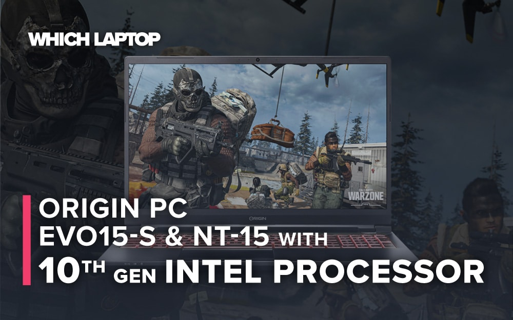 Origin PC update their EVO15-S and NT-15 with 10th Gen Intel processor